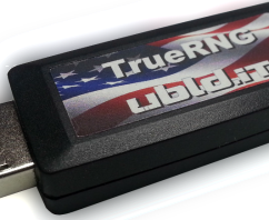 New product launched, TrueRNG hardware random number generator
