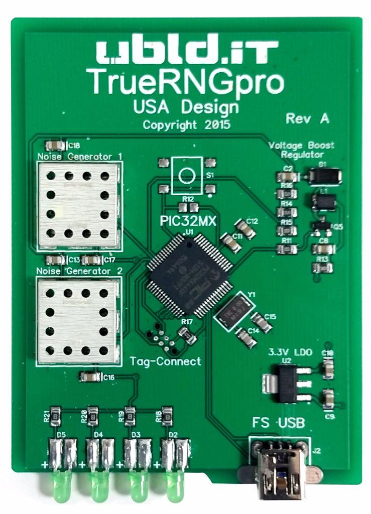 TrueRNGpro USB Hardware Random Number Generator New