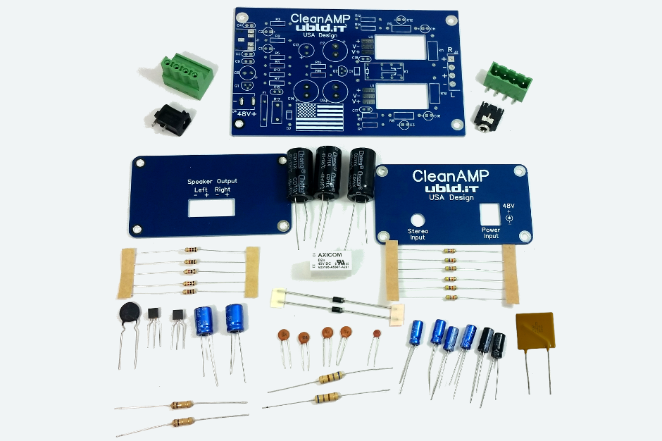 CleanAmp 2 Stereo Amplifier Kit - ubld it - TrueRNG and