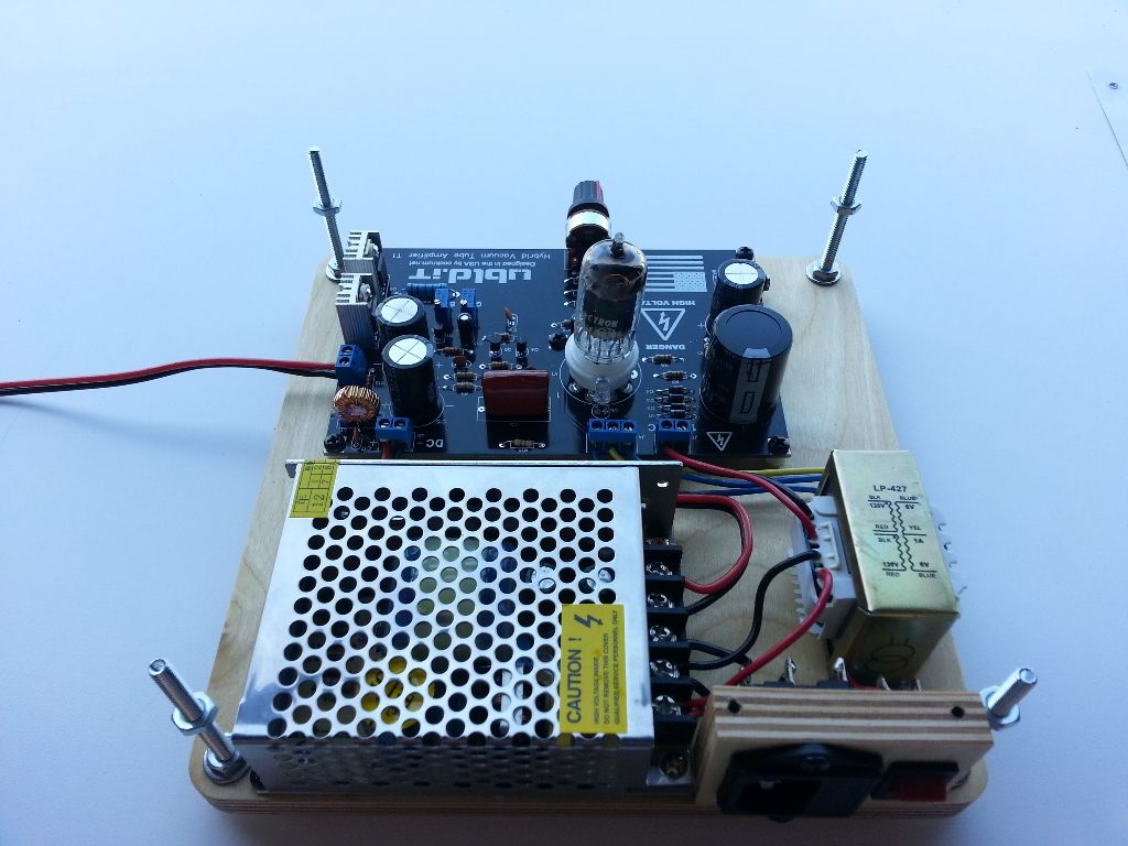 Hybrid Vacuum Tube Audio Amplifier Truerng And Isolation Transformer Circuit As Well Lifier Together