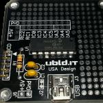 USB PIC16F1455 Breakout Board